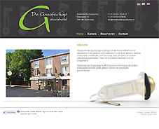 website Stadshotel De Graafschap